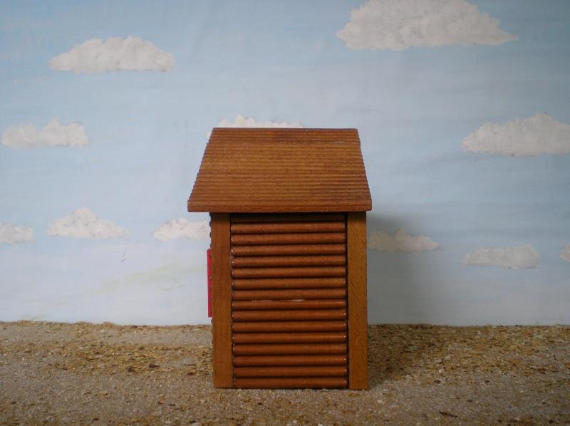 Wildwest-Gebäude aus Holz für Figuren von 54 bis 70 mm Shg_ba13