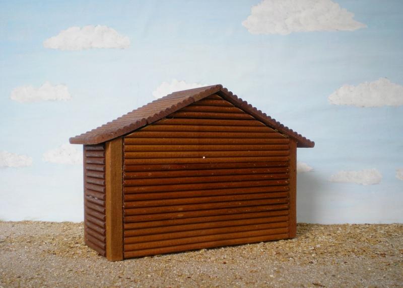 Wildwest-Gebäude aus Holz für Figuren von 54 bis 70 mm Shg_ba14