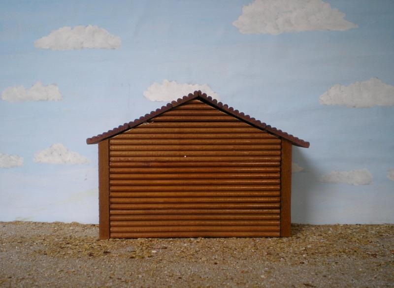 Wildwest-Gebäude aus Holz für Figuren von 54 bis 70 mm Shg_ba15