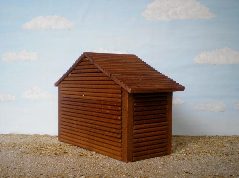 Wildwest-Gebäude aus Holz für Figuren von 54 bis 70 mm Shg_ba16