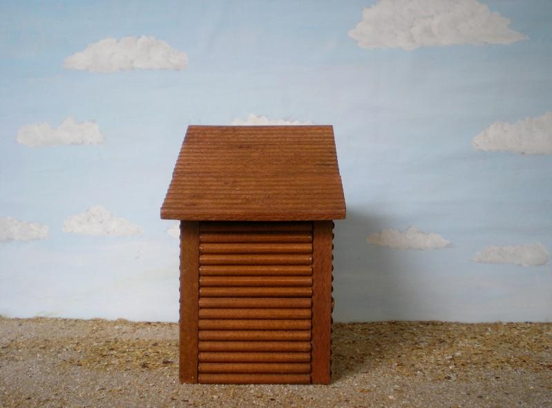 Wildwest-Gebäude aus Holz für Figuren von 54 bis 70 mm Shg_ba17