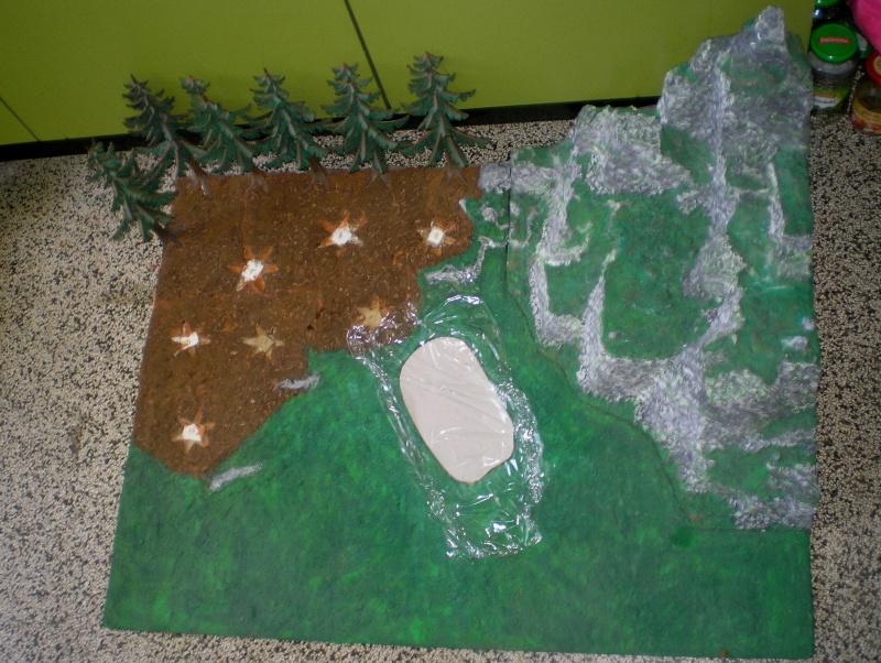 Gestaltung eines Dioramas mit den Tannen von Playmobil Tannen10