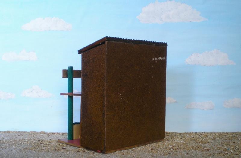 Wildwest-Gebäude aus Holz für Figuren von 54 bis 70 mm Vero_a16