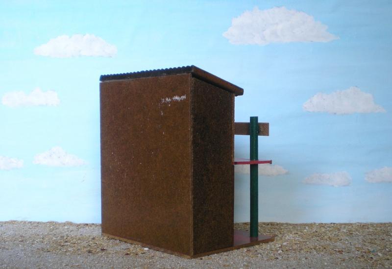 Wildwest-Gebäude aus Holz für Figuren von 54 bis 70 mm Vero_a21
