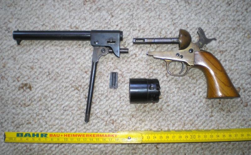 Bemalungen, Umbauten, Modellierungen - neue Cowboys für meine Dioramen - Seite 2 Waffen11