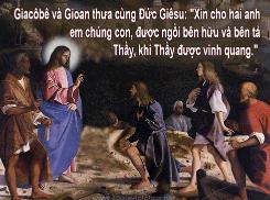 Chúa Nhật 29 Thường Niên Năm B Phụng Vụ Lời Chúa (18.10.2015) Cn-29-10