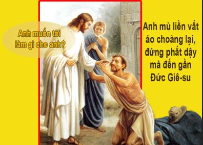 Chúa Nhật 30 Thường Niên Năm B Phụng Vụ Lời Chúa (25.10.2015) Cn-30-11