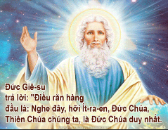 Chúa Nhật 31 Thường Niên Năm B Phụng Vụ Lời Chúa (01.11.2015) Cn-31-11