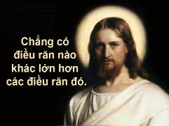 Chúa Nhật 31 Thường Niên Năm B Phụng Vụ Lời Chúa (01.11.2015) Cn-31-13