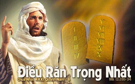 Chúa Nhật 31 Thường Niên Năm B Phụng Vụ Lời Chúa (01.11.2015) Cn-31-16