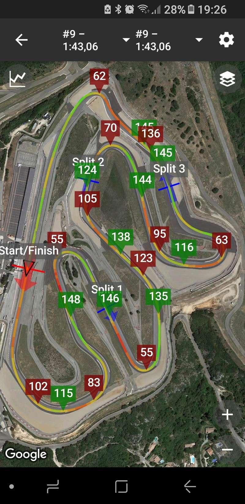 Race Chrono (chronomètre GPS gratuit) - Page 11 20180311