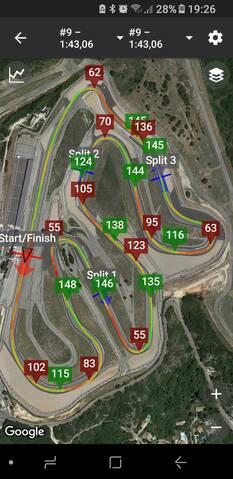 Race Chrono (chronomètre GPS gratuit) - Page 11