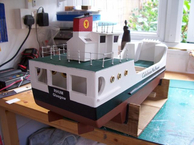 Calmac Ferry  RUM 100_0910