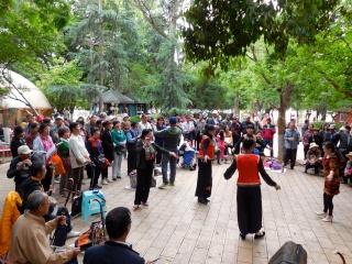 Avril 2015 en Chine (5) : Kunming, les traces de la présence française Danses10