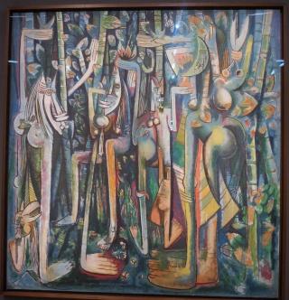 Wifredo LAM au Centre Pompidou (30 septembre 2015 - 15 février 2016) Dscn0510