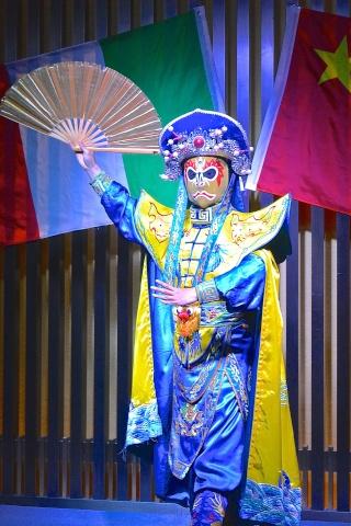 """L'opéra du Sichuan : 川剧""""chuānjù"""" Masque10"""