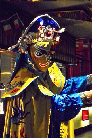 """L'opéra du Sichuan : 川剧""""chuānjù"""" Masque12"""