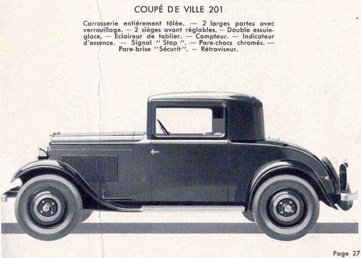 """1933 : une 201 """"COUPÉ DE VILLE"""" 201_co10"""