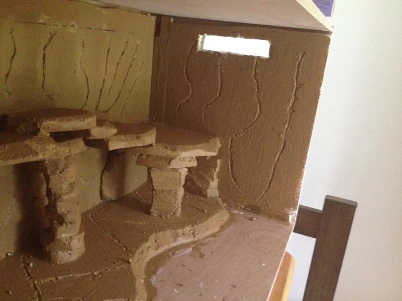 Le nouveau terrarium que mon pote est occupé a construire pour ses petiots 11951710