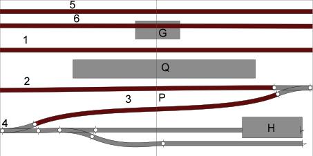 """Réseau sous forme de modules, point d'arrêt """"Tarte al djote Module11"""