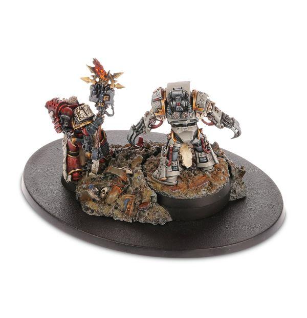 [Forge World M31] - Dioramas Primarques et Héros Highch11