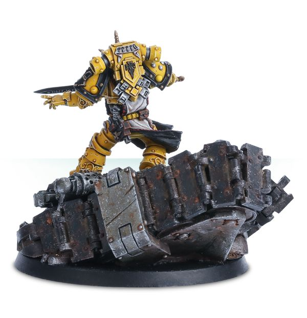 [Forge World M31] - Dioramas Primarques et Héros Sigism11