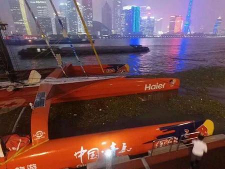 Vendredi 23 octobre : rendez-vous entre 15h30 et 16h30 au  Shanghai Bund yacht club Trim10