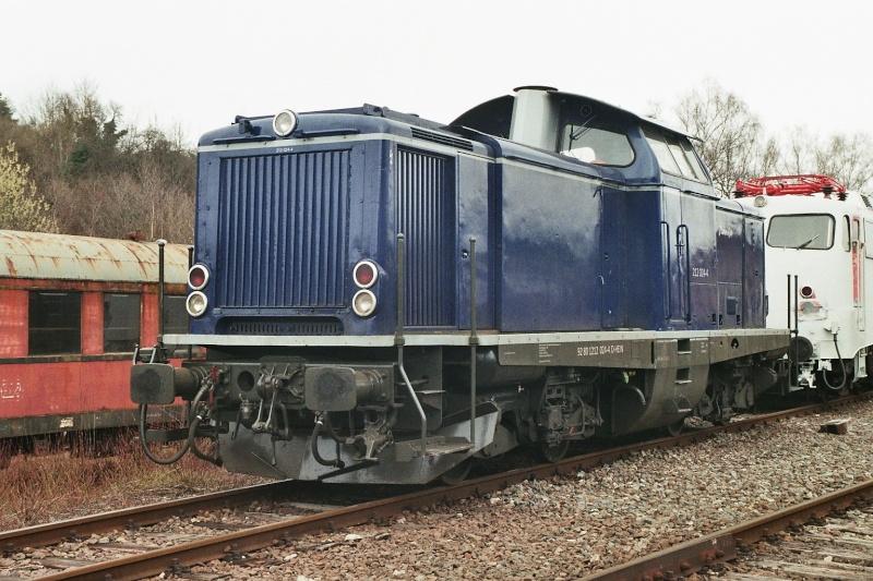 Die Baureihe V100 der DB - 211-213 2015-110