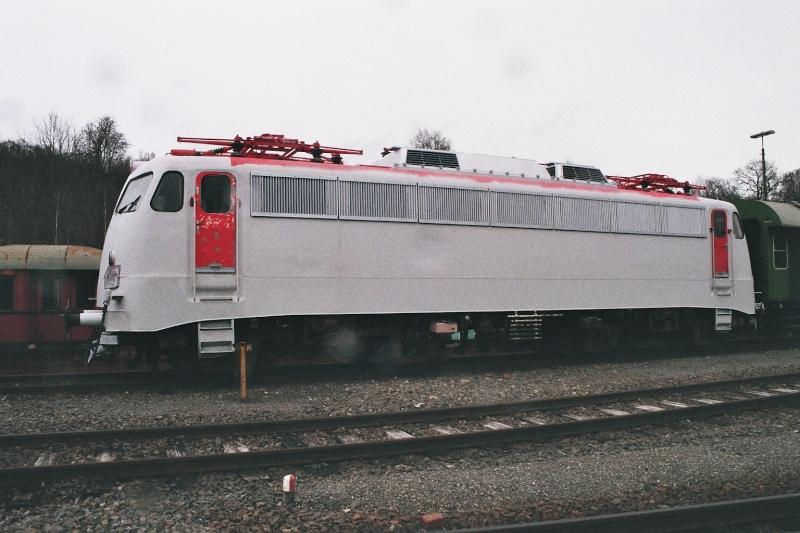 Die E-Lok Baureihe 110 / E10 der DB 2015-127