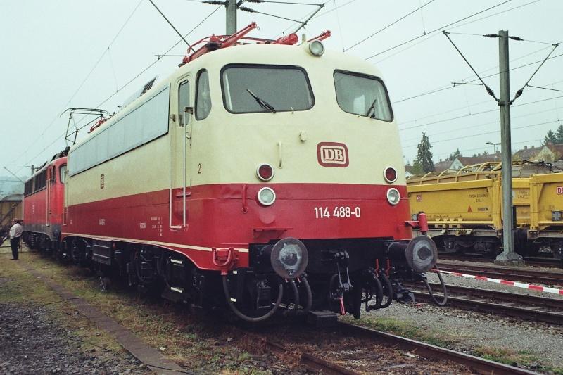 Die E-Lok Baureihe 110 / E10 der DB 2015-128