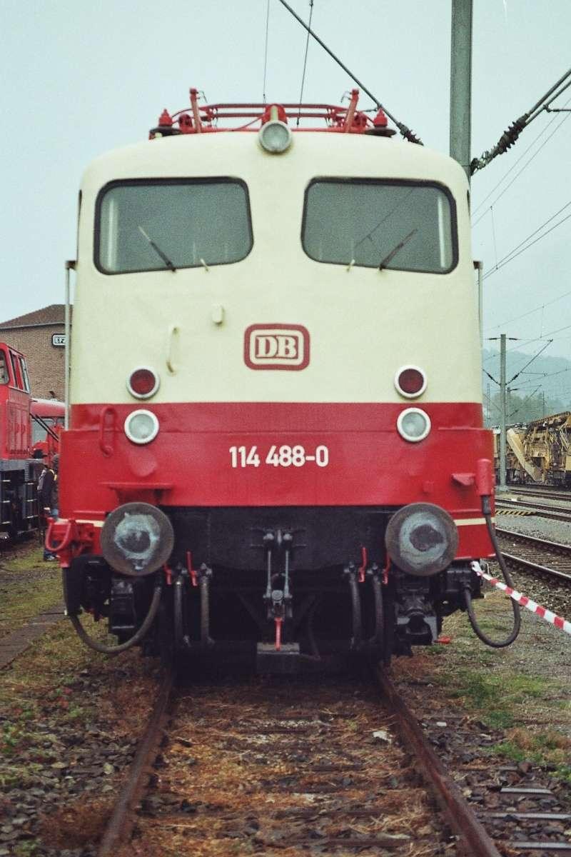 Die E-Lok Baureihe 110 / E10 der DB 2015-139