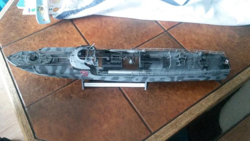 Le Schnellboot S-100 Revell au 1/72 Camouflé 20150810