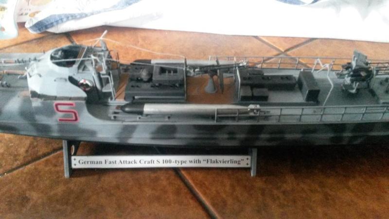 Le Schnellboot S-100 Revell au 1/72 Camouflé 20150812