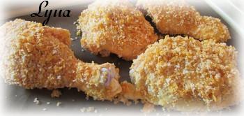 Cuisses de poulet croustillant au four Cuisse11