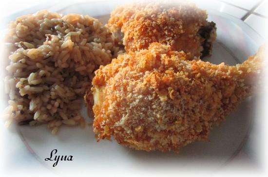 Cuisses de poulet croustillant au four Cuisse12