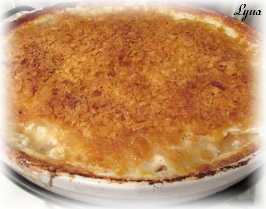 Gratin de pommes de terre au fromage Gratin11