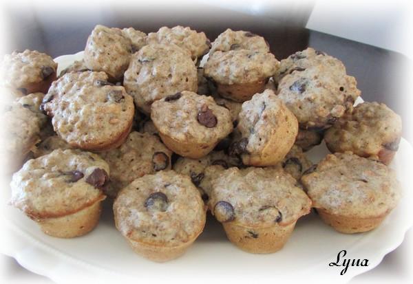 Mini muffins au son et pépites de chocolat Mini_m10