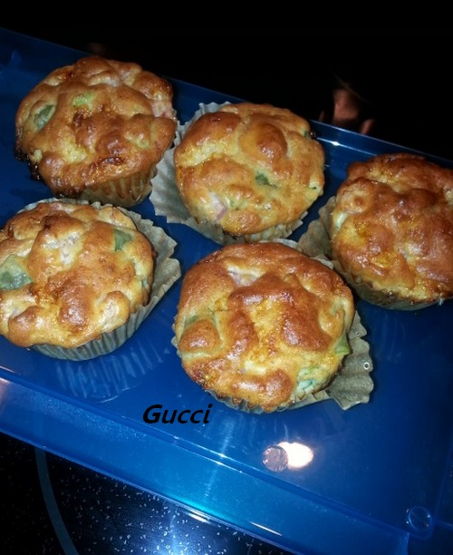 Muffins déjeuner jambon-fromage Muffin10