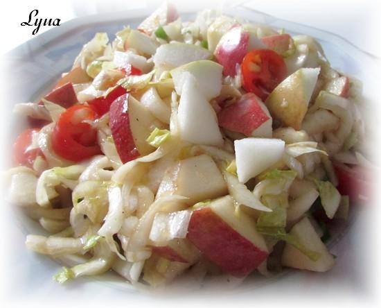 Salade d'endives et pomme Salade12