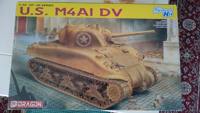 Sicile 1943 Opération Husky - Sherman M4A1 DV  Dragon 1/35 Sherma10