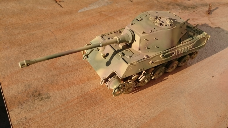Tigre II Tamiya 1/35 Tigre_12