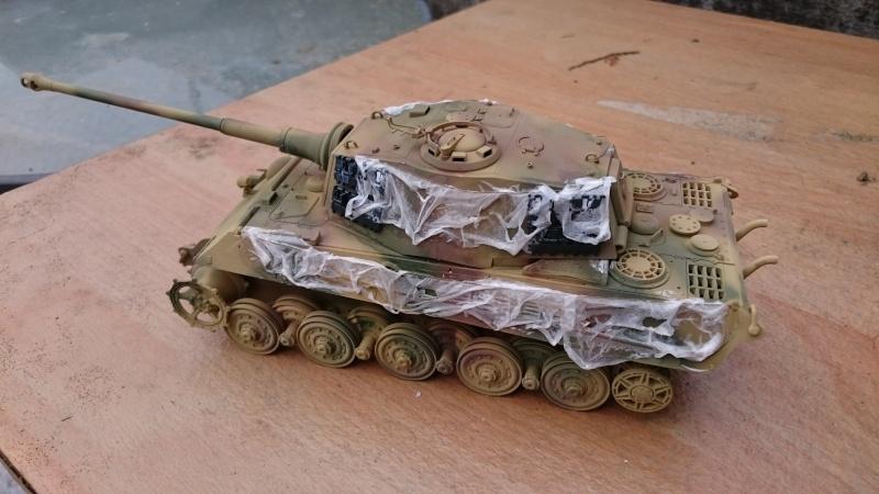 Tigre II Tamiya 1/35 Tigre_14
