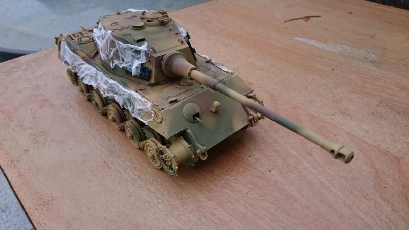 Tigre II Tamiya 1/35 Tigre_15