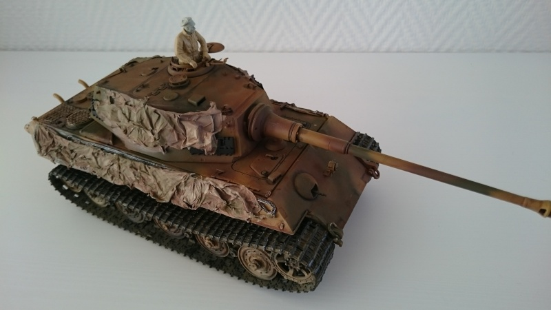 Tigre II Tamiya 1/35 Tigre_17