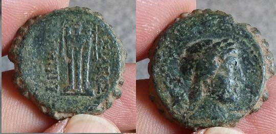 APAMEE Syrie séleucide Démétrios I Soter autonome Antioche Picsar14