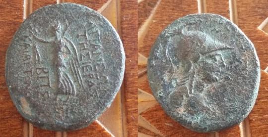 APAMEE Syrie séleucide Démétrios I Soter autonome Antioche Picsar15