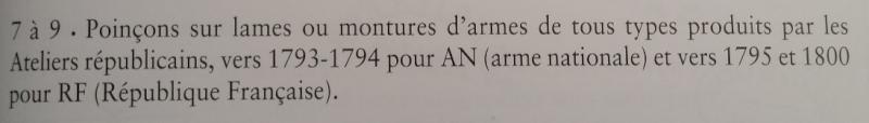 Identification d'un poinçon de sabre d'époque révolution Poinyo12