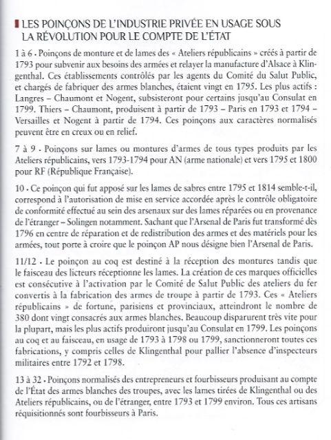Identification d'un poinçon de sabre d'époque révolution Poinyo14