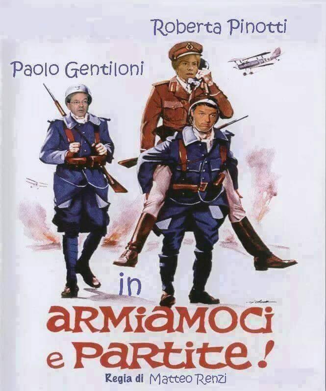 "Locandina da cinema per Renzi"" Cinema10"