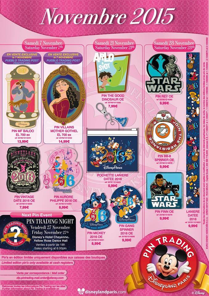 Le Pin Trading à Disneyland Paris - Page 2 878b1712